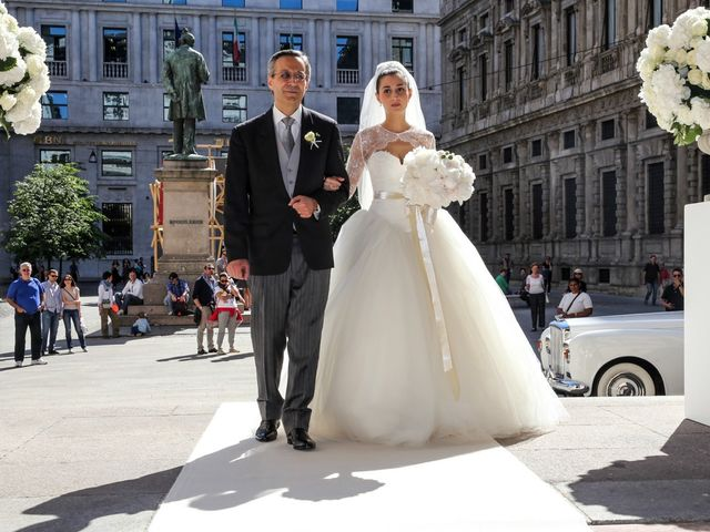 Il matrimonio di Massimo e Chiara a Milano, Milano 12
