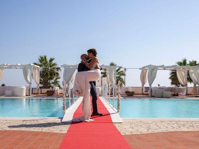 Il matrimonio di Sergio e Claudia a Castrignano del Capo, Lecce 43