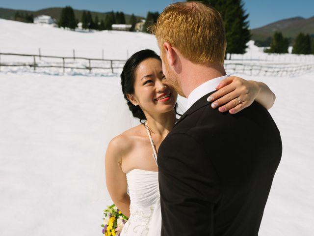 Il matrimonio di Mauro e Kaioko a Tambre, Belluno 45