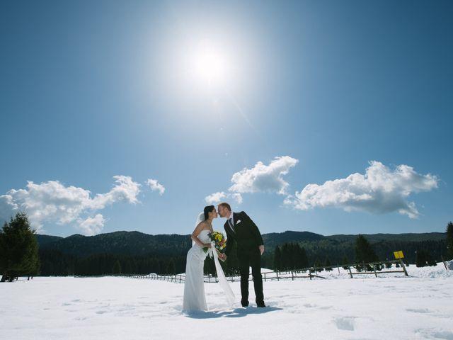 Il matrimonio di Mauro e Kaioko a Tambre, Belluno 51