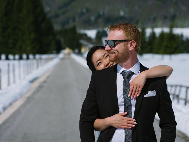 Il matrimonio di Mauro e Kaioko a Tambre, Belluno 1