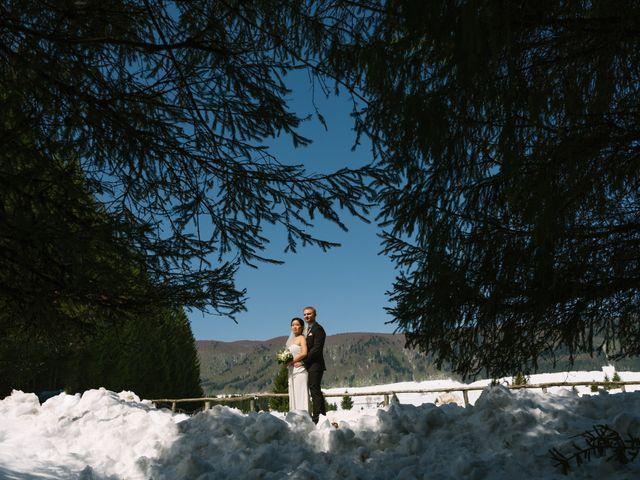 Il matrimonio di Mauro e Kaioko a Tambre, Belluno 58