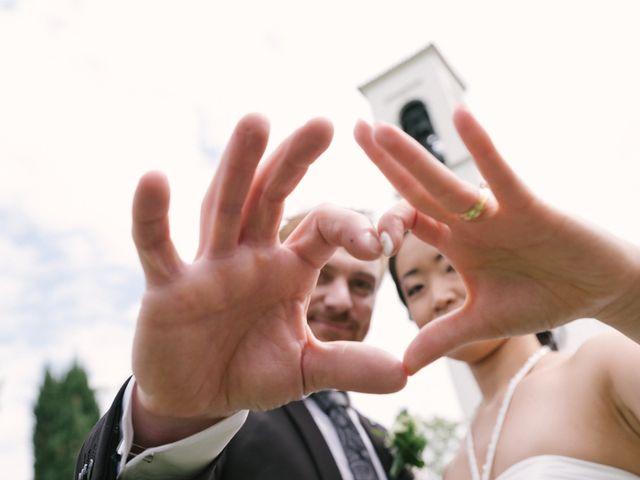 Il matrimonio di Mauro e Kaioko a Tambre, Belluno 66