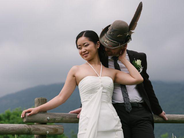 Il matrimonio di Mauro e Kaioko a Tambre, Belluno 70