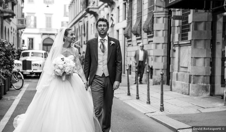 Il matrimonio di Massimo e Chiara a Milano, Milano