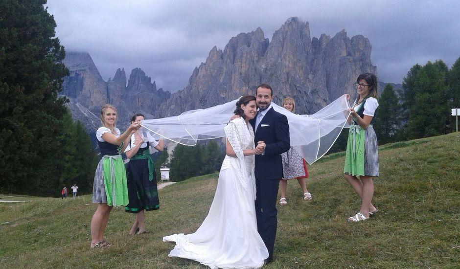 Il matrimonio di Marilena e Renato a Vigo di Fassa, Trento