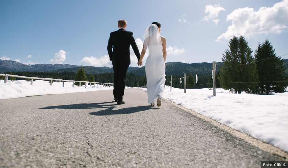 Il matrimonio di Mauro e Kaioko a Tambre, Belluno