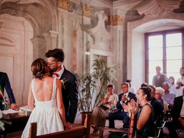 Il matrimonio di Pietro e Federica a Villa di Serio, Bergamo 38