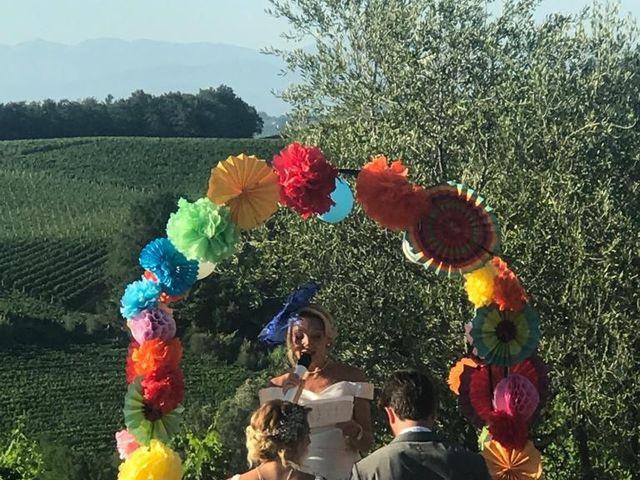Il matrimonio di Andrea  e Chiara a Terricciola, Pisa 3
