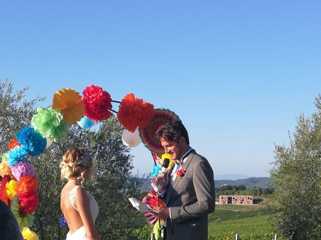 Il matrimonio di Andrea  e Chiara a Terricciola, Pisa 4