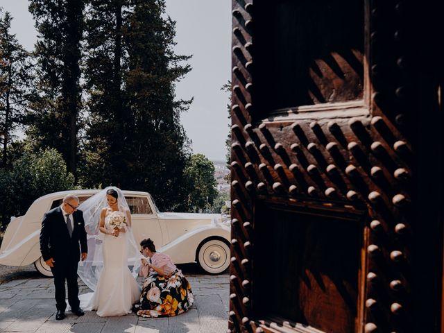 Il matrimonio di Francesco e Lorena a Castelfiorentino, Firenze 15