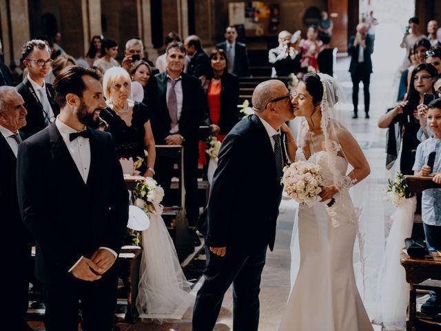Il matrimonio di Francesco e Lorena a Castelfiorentino, Firenze 16