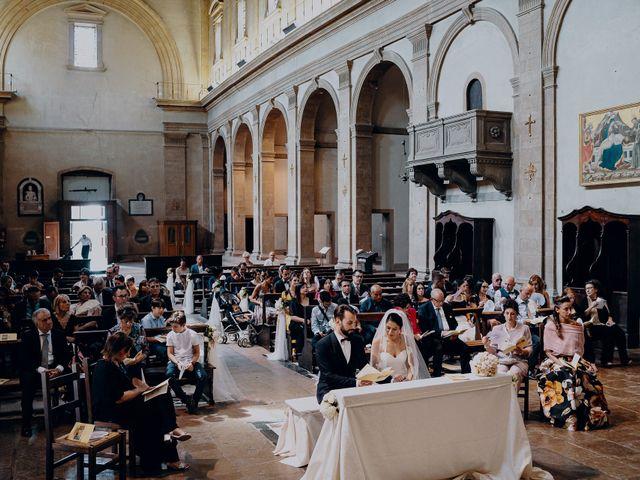 Il matrimonio di Francesco e Lorena a Castelfiorentino, Firenze 18