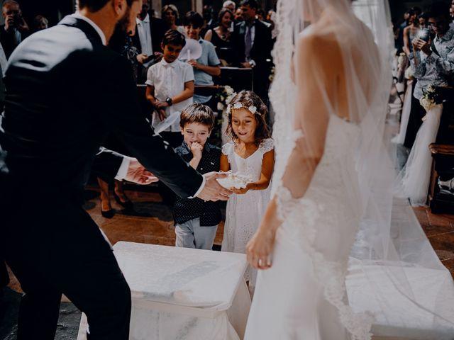 Il matrimonio di Francesco e Lorena a Castelfiorentino, Firenze 20