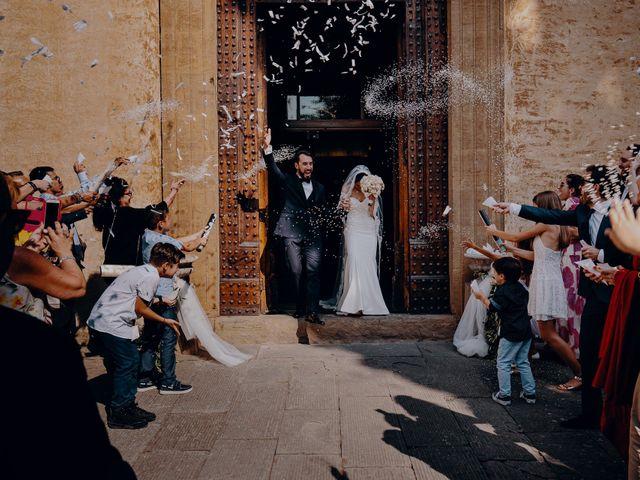 Il matrimonio di Francesco e Lorena a Castelfiorentino, Firenze 22