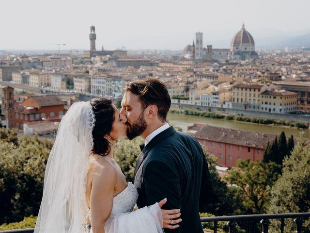 Il matrimonio di Francesco e Lorena a Castelfiorentino, Firenze 1