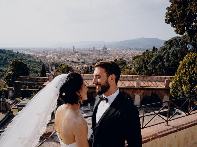 Il matrimonio di Francesco e Lorena a Castelfiorentino, Firenze 26