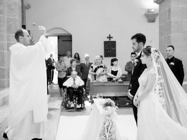 Il matrimonio di Elisa e Luca a Sermoneta, Latina 21