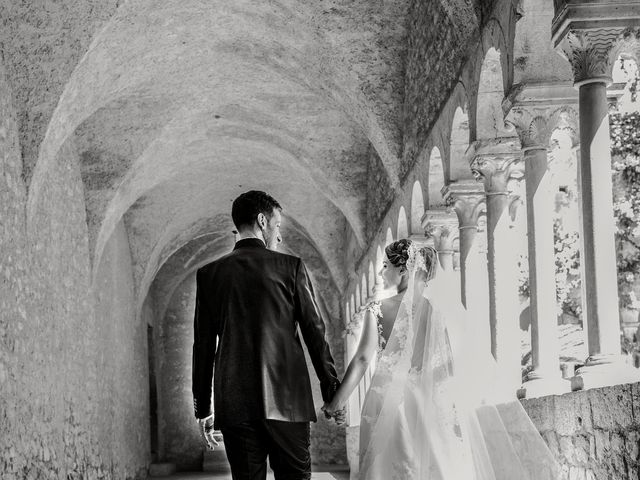 Il matrimonio di Elisa e Luca a Sermoneta, Latina 34