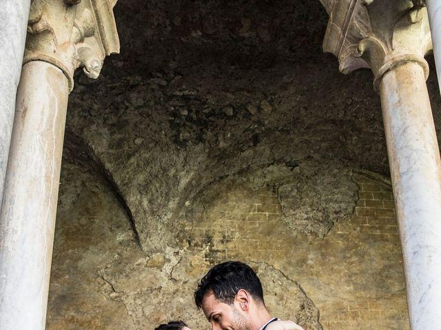 Il matrimonio di Elisa e Luca a Sermoneta, Latina 39