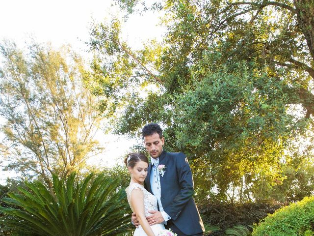 Il matrimonio di Elisa e Luca a Sermoneta, Latina 42