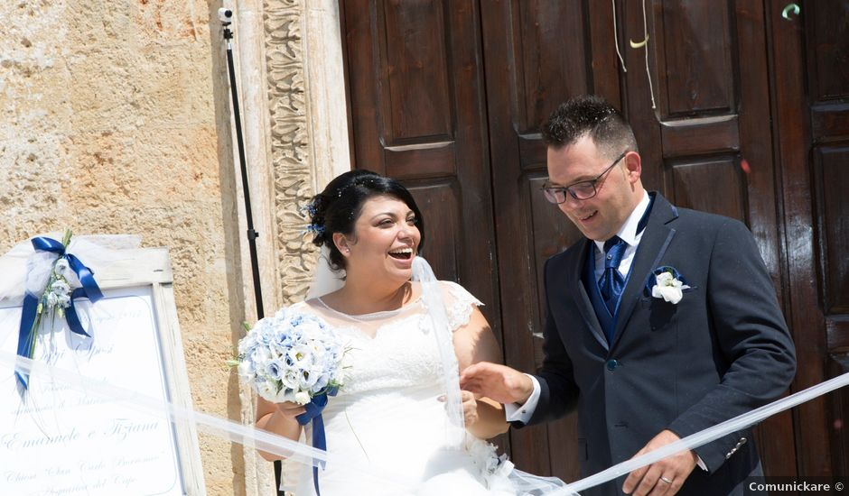 Il matrimonio di Emanuele e Tiziana a Acquarica del Capo, Lecce