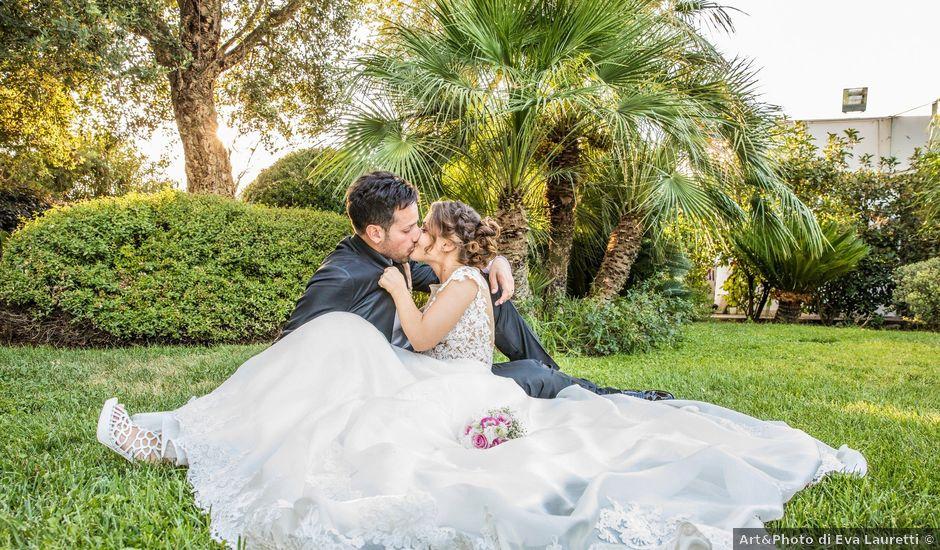 Il matrimonio di Elisa e Luca a Sermoneta, Latina