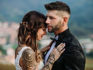 Le nozze di Simone e Pamela