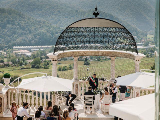 Il matrimonio di Pamela e Simone a Bergamo, Bergamo 23