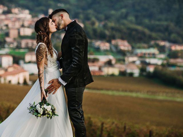 Il matrimonio di Pamela e Simone a Bergamo, Bergamo 56