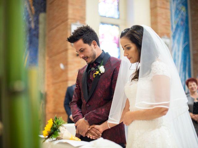 Il matrimonio di Federica e Loris a Pontinia, Latina 34