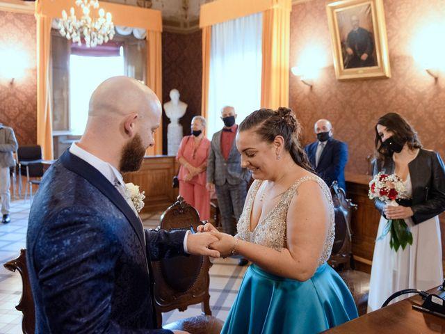 Il matrimonio di Marco e Martina a San Pietro in Casale, Bologna 18
