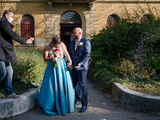 Il matrimonio di Marco e Martina a San Pietro in Casale, Bologna 21