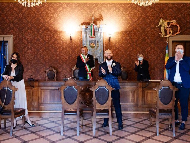 Il matrimonio di Marco e Martina a San Pietro in Casale, Bologna 16