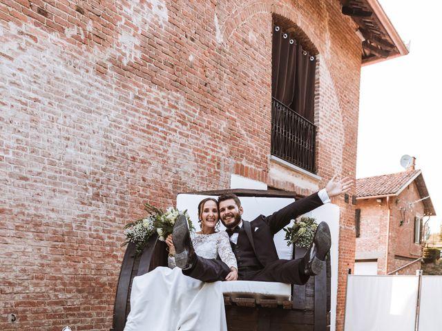 Il matrimonio di Andrea e Chiara a Villafranca d'Asti, Asti 108