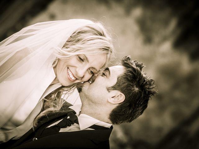 le nozze di Serena e Alberto