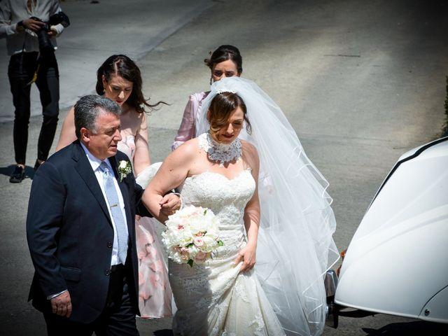 Il matrimonio di Giuseppe e Debora a Grottaminarda, Avellino 3