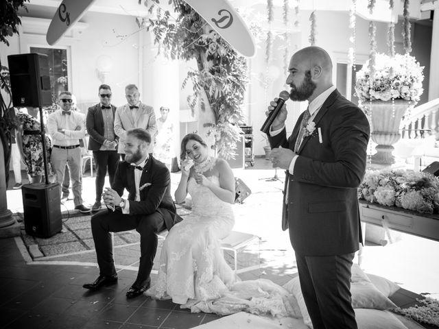 Il matrimonio di Giuseppe e Debora a Grottaminarda, Avellino 116