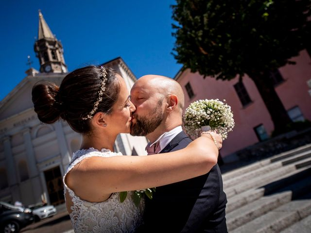 le nozze di Veronica e Aron