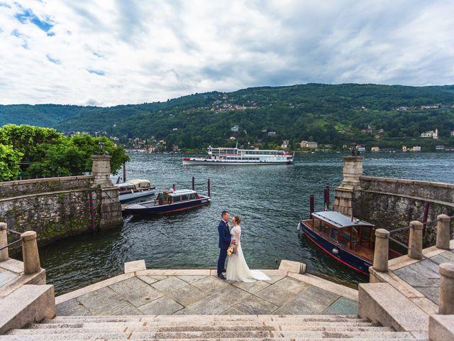 Il matrimonio di Iuri e Roberta a Baveno, Verbania 36