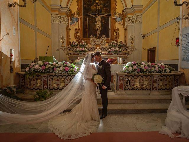 Il matrimonio di Giuseppina e Raffaele a Boscoreale, Napoli 1