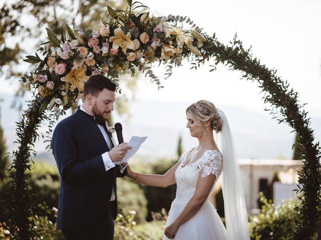 Il matrimonio di Riccardo e Sabrina a Gambassi Terme, Firenze 1