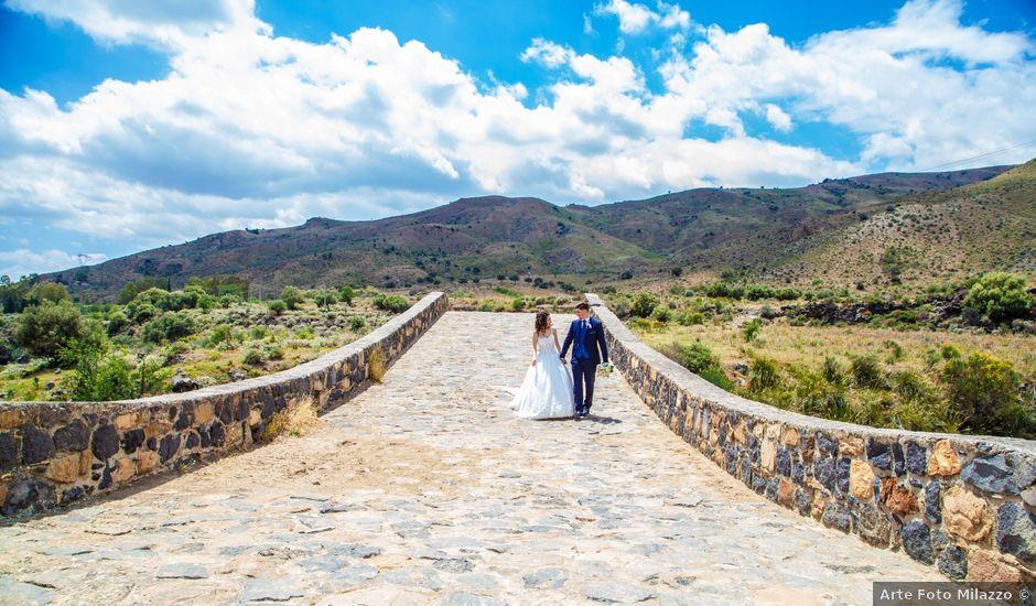 Il matrimonio di Davide e Vanessa a Adrano, Catania