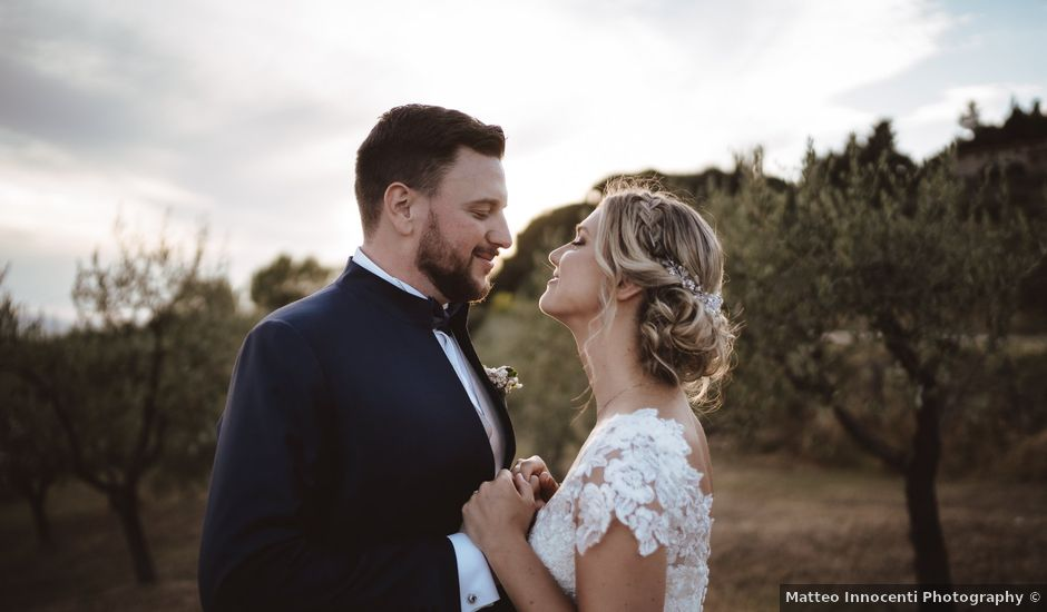 Il matrimonio di Riccardo e Sabrina a Gambassi Terme, Firenze