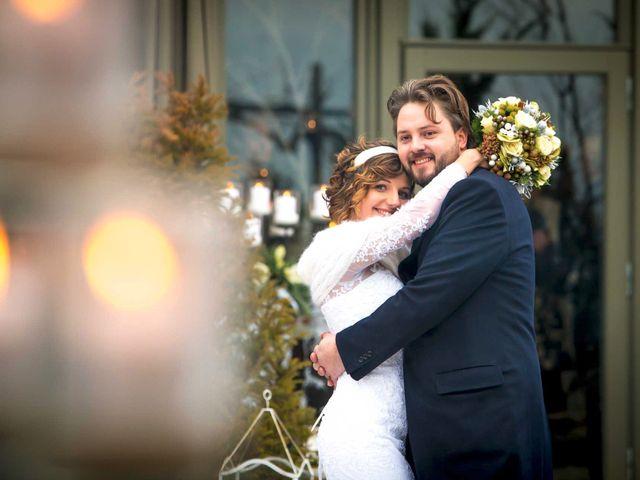 le nozze di Antonella e Federico