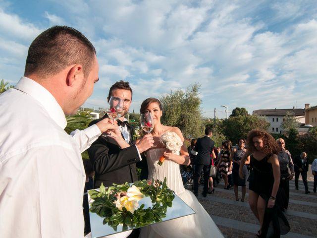 Il matrimonio di Marco e Zineb a Bardolino, Verona 22