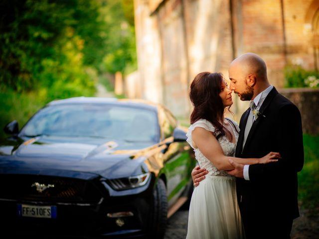 Il matrimonio di Lorenzo e Serena a San Francesco al Campo, Torino 64