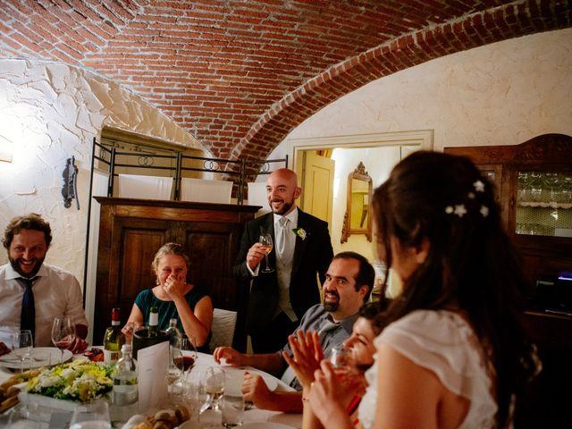 Il matrimonio di Lorenzo e Serena a San Francesco al Campo, Torino 83