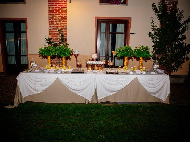 Il matrimonio di Lorenzo e Serena a San Francesco al Campo, Torino 86