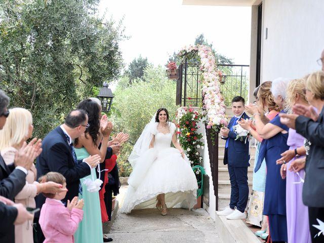 Il matrimonio di Francesco e Giada  a Grottaferrata, Roma 20